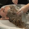 Jak namytí vlasů